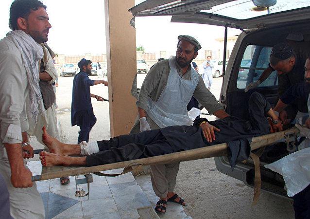 阿富汗海关附近爆炸造成6死约20伤
