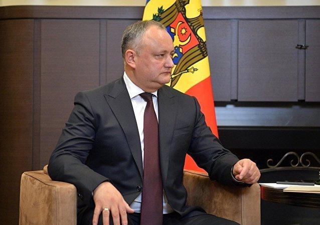 摩尔多瓦总统伊戈尔·多东