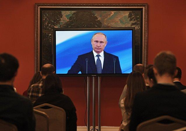 俄羅斯總統普京就職儀式
