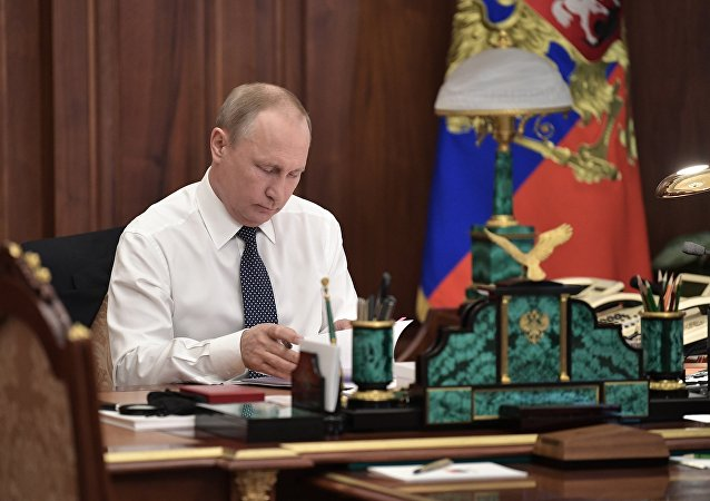 普京稱,我強烈地認識到自己對人民和國家的巨大的責任
