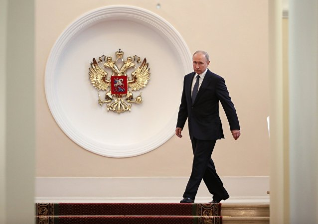 普京表示,服務人民和國家將是他生活和工作的目標