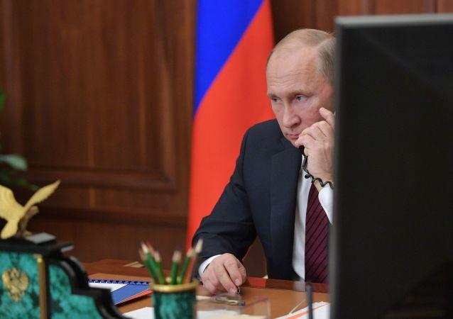 普京:俄羅斯需在各領域取得突破