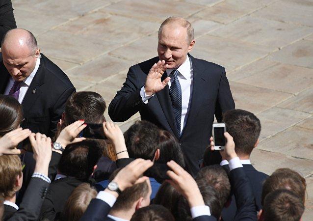 普京正式就職俄羅斯聯邦總統,開啓新的六年總統任期