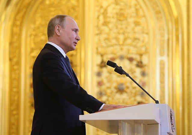 普京就胜利日向原苏联加盟共和国人民致贺