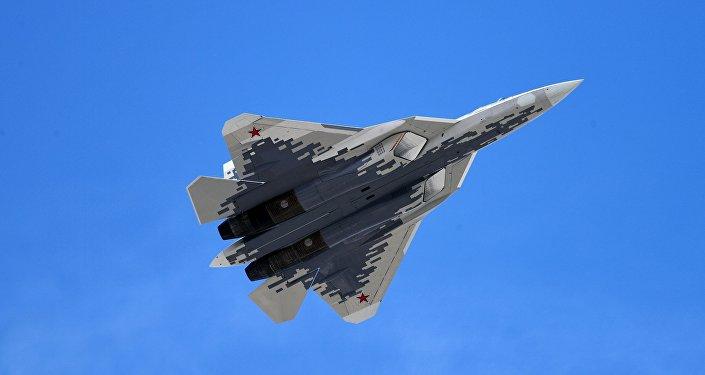 俄罗斯苏-57战机