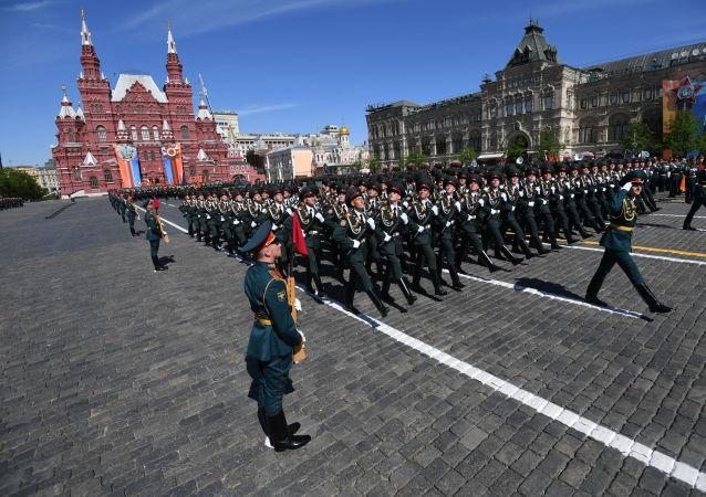 尚未作出因新冠疫情推迟莫斯科胜利日阅兵的决定