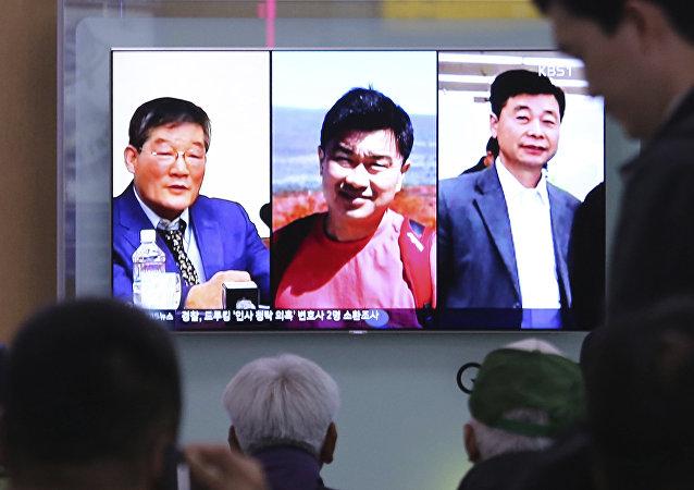 特朗普将朝鲜释放美国公民视为善意的姿态