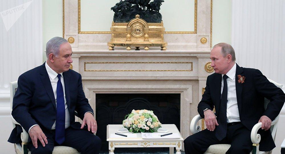 普京与内塔尼亚胡21日将在莫斯科举行会晤