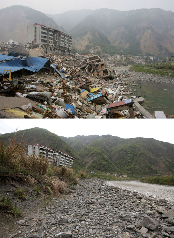 汶川地震十週年