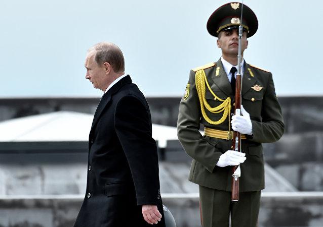 克宫:普京将于5月14日在索契会见亚美尼亚总理