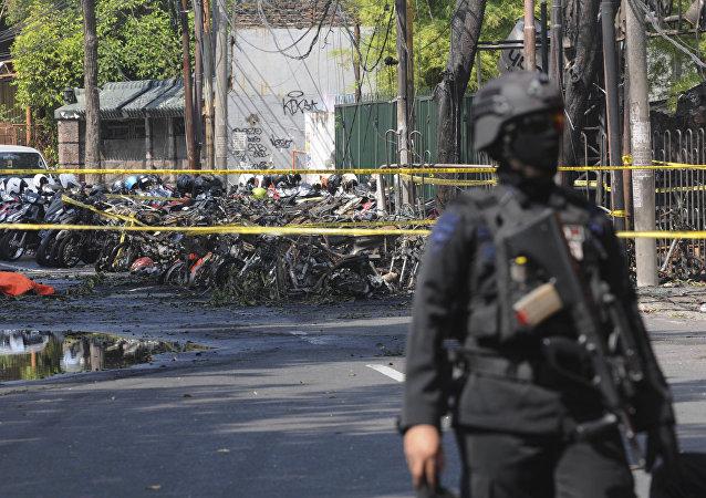 印尼教堂爆炸致死人數增至9人 40人受傷