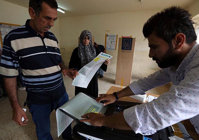伊拉克四个政党要求库区重新举行选举