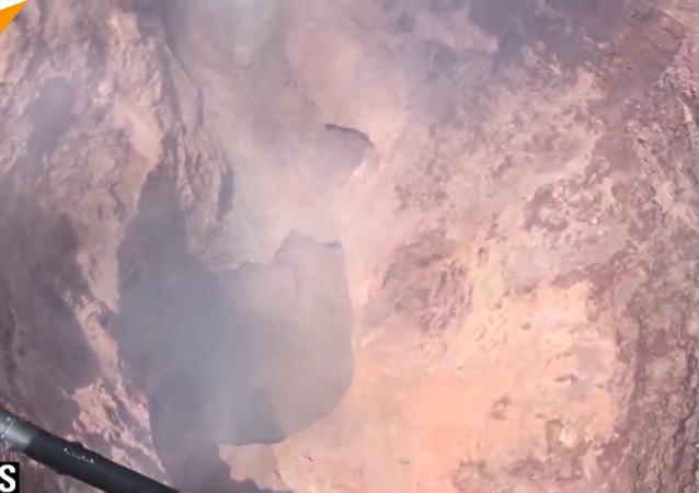 基拉韦厄火山底部崩塌