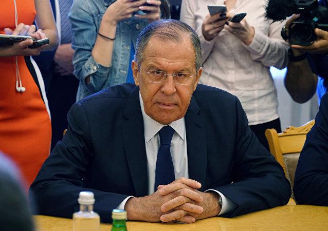 俄外长拉夫罗夫