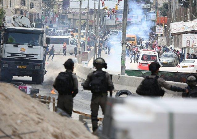 加沙地帶邊境14日已有55名巴勒斯坦人在與以色列士兵的衝突中喪生,2771人受傷