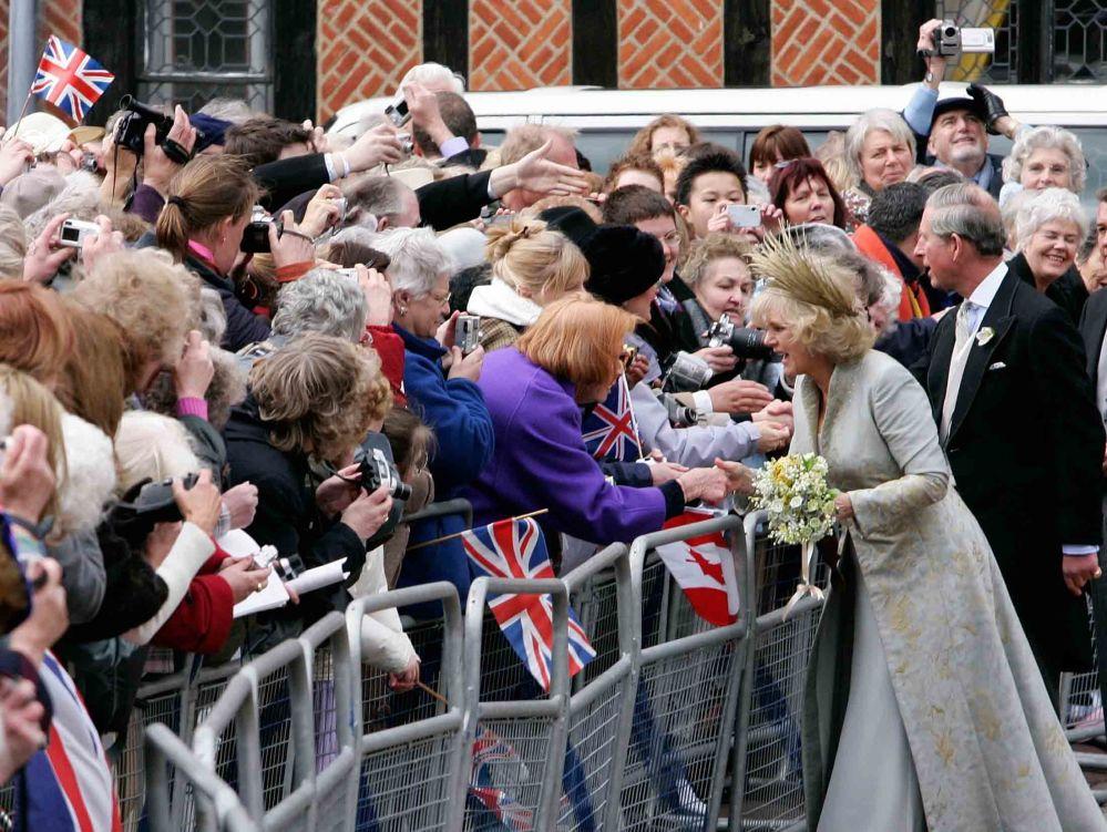 查尔斯王子与妻子卡米拉