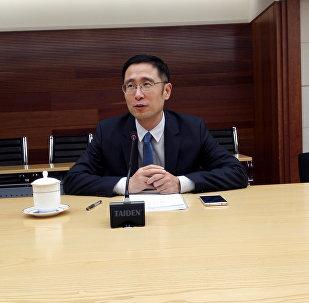 中国商务部欧亚司副司长刘雪松