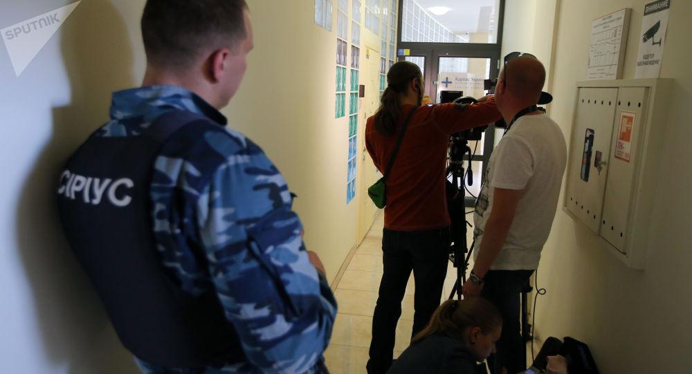 烏安全局已結束對烏克蘭俄新社新聞網站辦公室持續約8小時的搜查