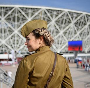 在伏爾加格勒州的世界杯足球賽比賽日將會是本地區的假日