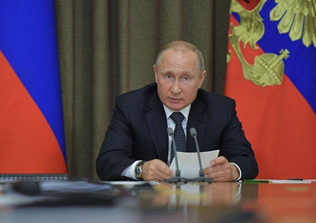 普京针对美国及其盟国签署反制裁法