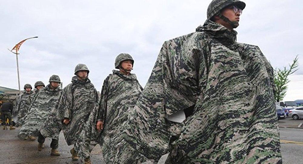 日本称美韩军演为重要的威慑手段