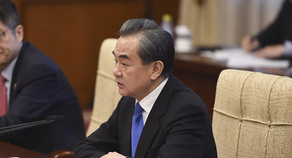 王毅敦促美方在涉台问题上恪守一个中国原则