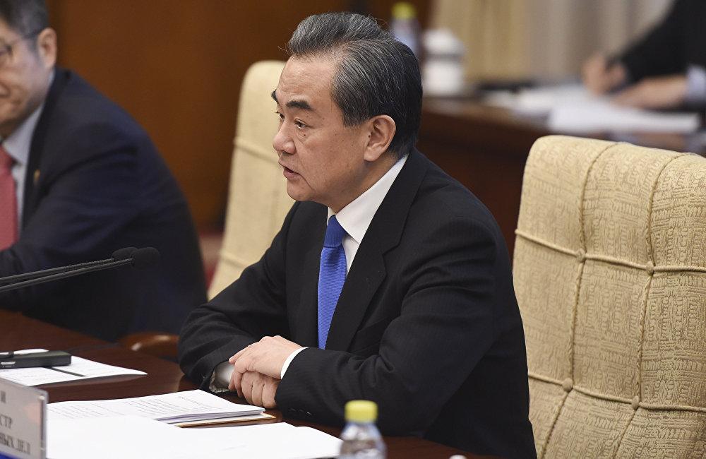 中国外交部长王毅