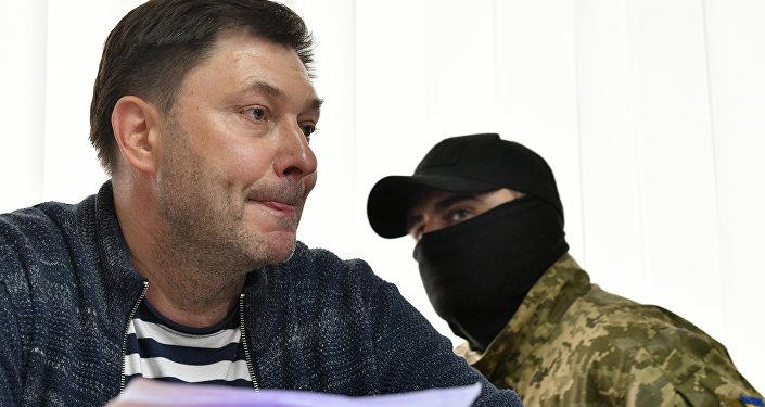 烏克蘭法院批准逮捕「俄新社烏克蘭」網站負責人維辛斯基,羈押期限2個月