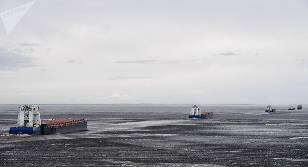 濱海邊疆區可能推出冰上旅遊路線