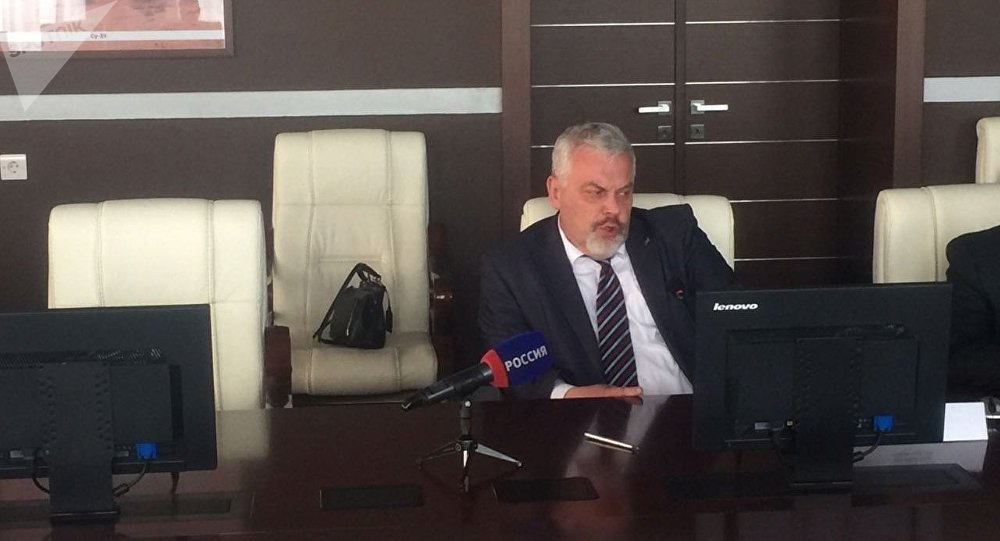烏蘭烏德航空工廠(U-UAZ)總工程師謝爾蓋·索羅明