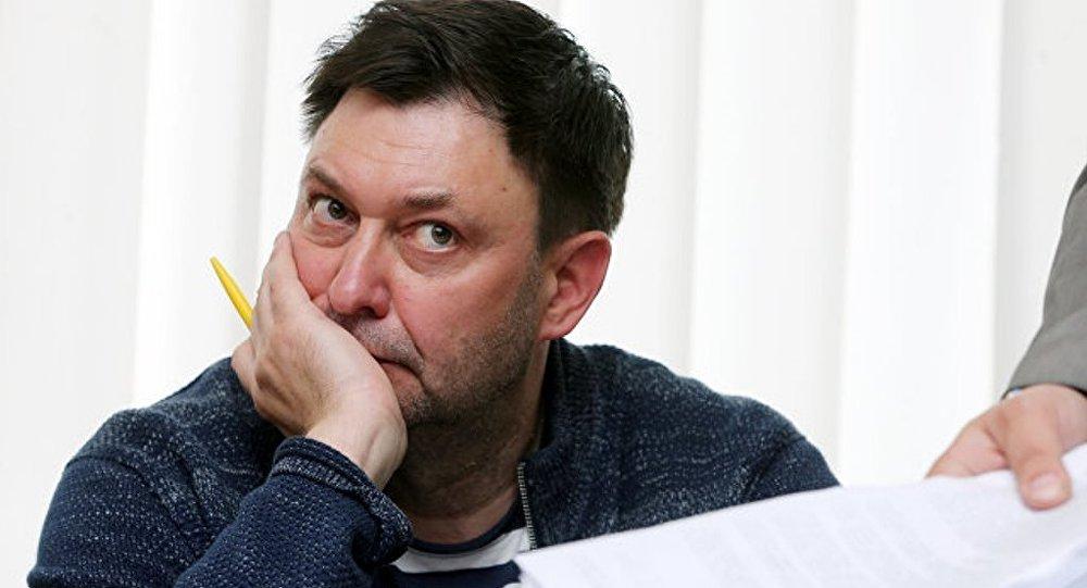 """乌当局禁止被捕的""""俄新社乌克兰""""网站负责人与家人联系"""