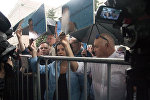 著名记者在乌克兰驻莫斯科大使馆附近举行支持维辛斯基的活动
