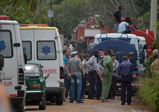 古巴波音客机三名幸存女性中的一名死亡