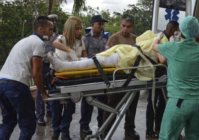古巴空难的三名幸存者其中一人不治身亡