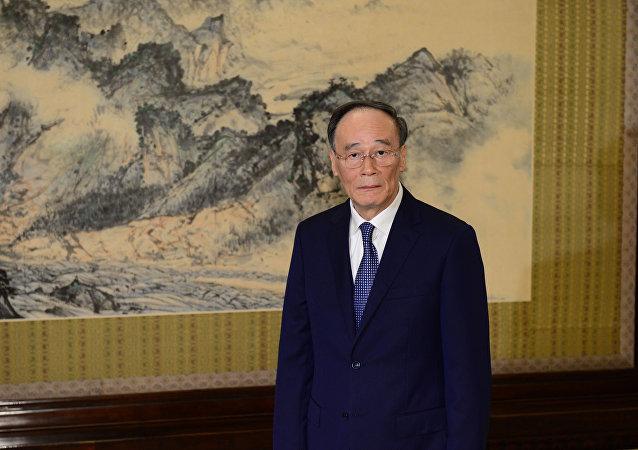 中国国家副主席王岐山