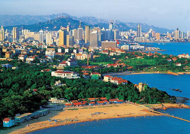 中国青岛市