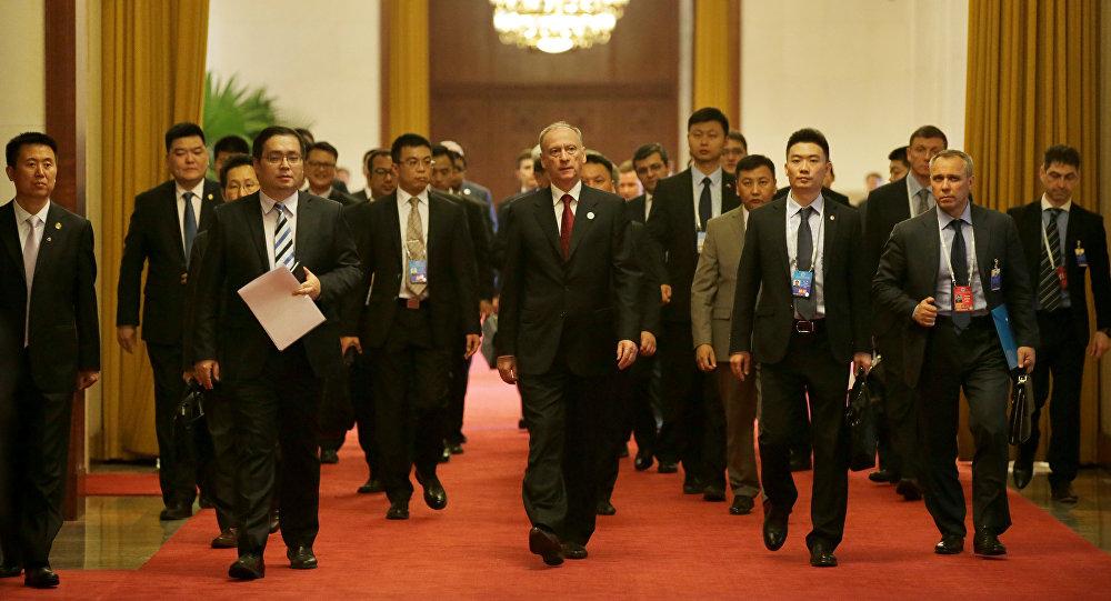 俄安全会议秘书与中国公安部部长就联合反恐问题举行会谈