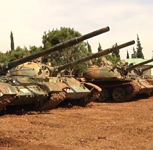 叙利亚霍姆斯省现外国雇佣兵痕迹