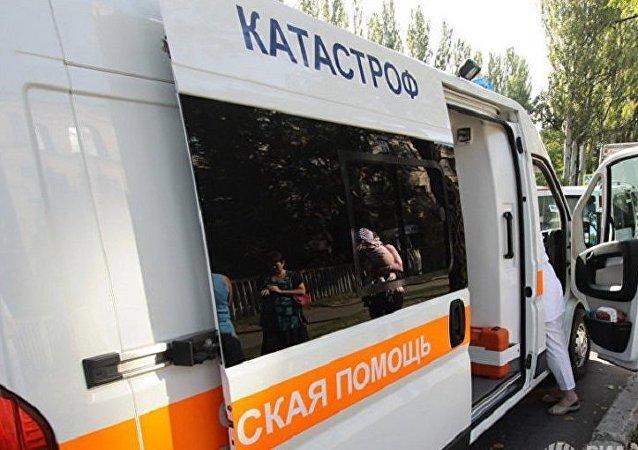 頓巴斯民兵稱傑巴利採沃發生客車爆炸 1人死亡