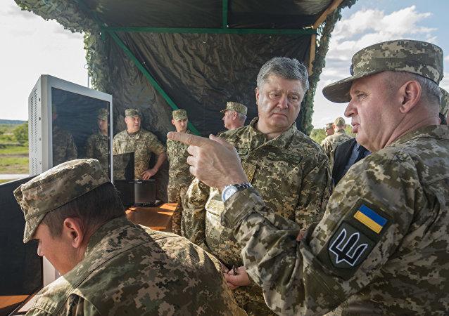"""乌克兰首次发射美国""""标枪""""反坦克导弹系统(Javelin)"""