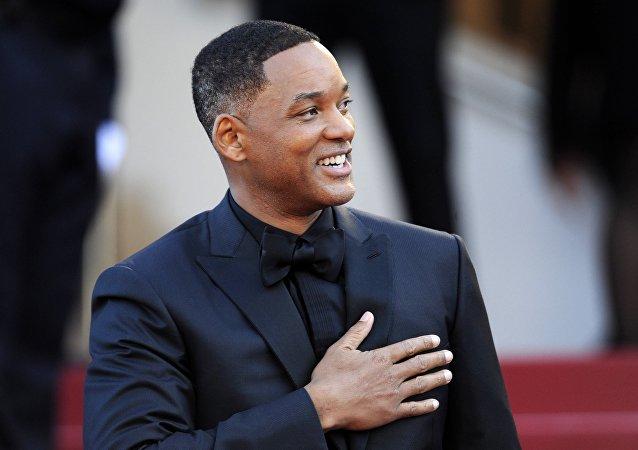 演员和嘻哈歌手威尔·史密斯(Will Smith)