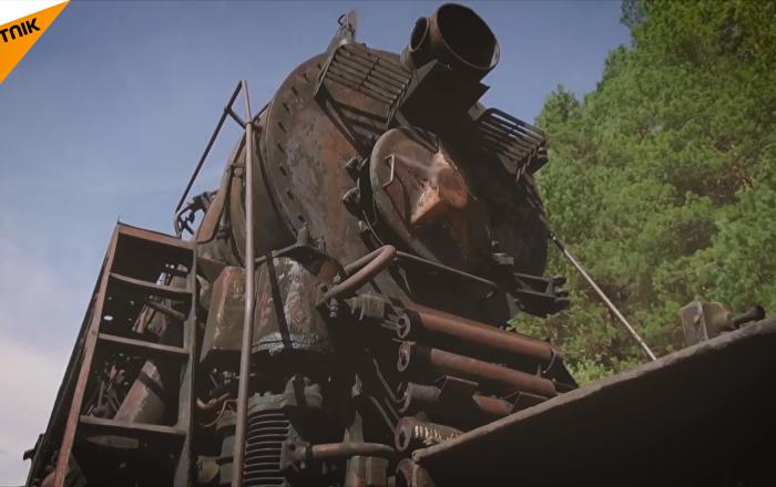 火车头之墓