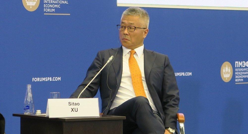 德勤会计师事务所中国分所总经济师许思涛