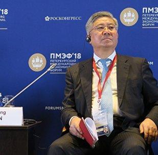 中国远洋海运集团有限公司副总经理孙家康