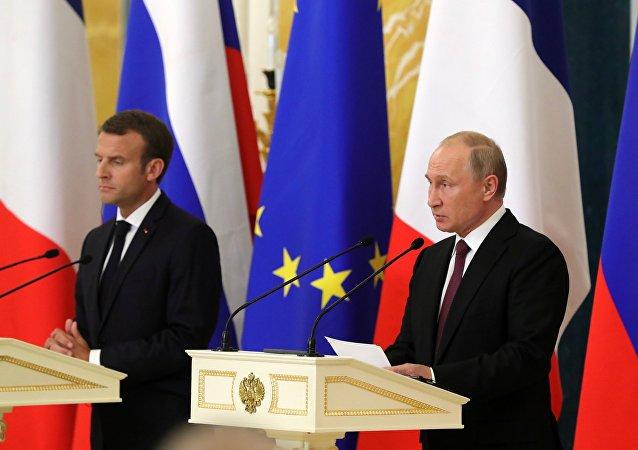 """普京:俄罗斯愿意支持任意级别的""""诺曼底模式""""会谈"""