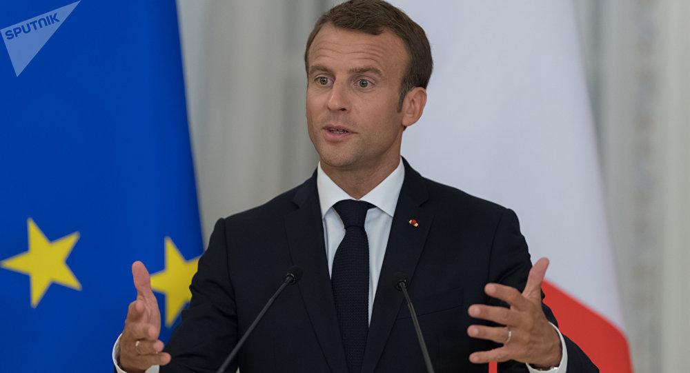 马克龙:法国不反对俄罗斯追求国际领导力