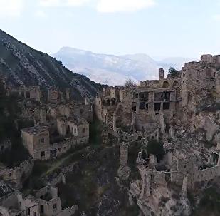 鬼村——達吉斯坦共和國高山之上