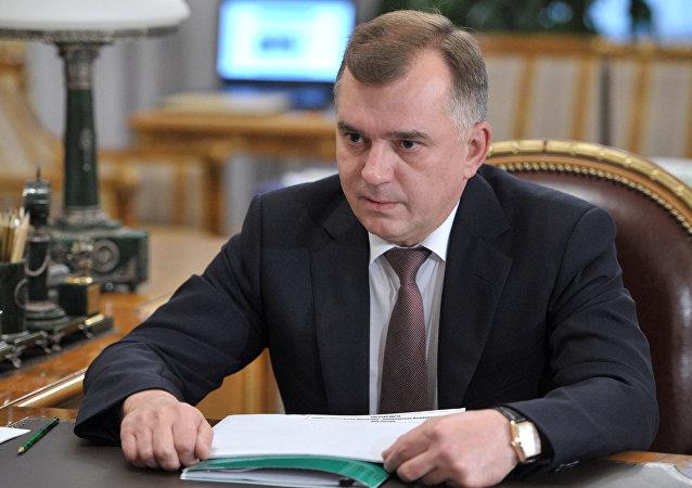 俄联邦安全局副局长、边防局局长弗拉基米尔•库利绍夫