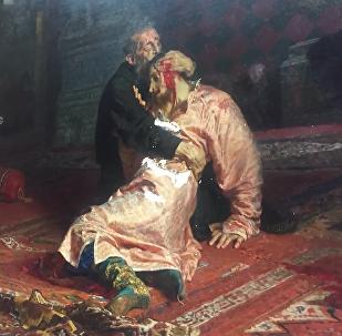 名畫《伊凡雷帝殺子》被故意損壞