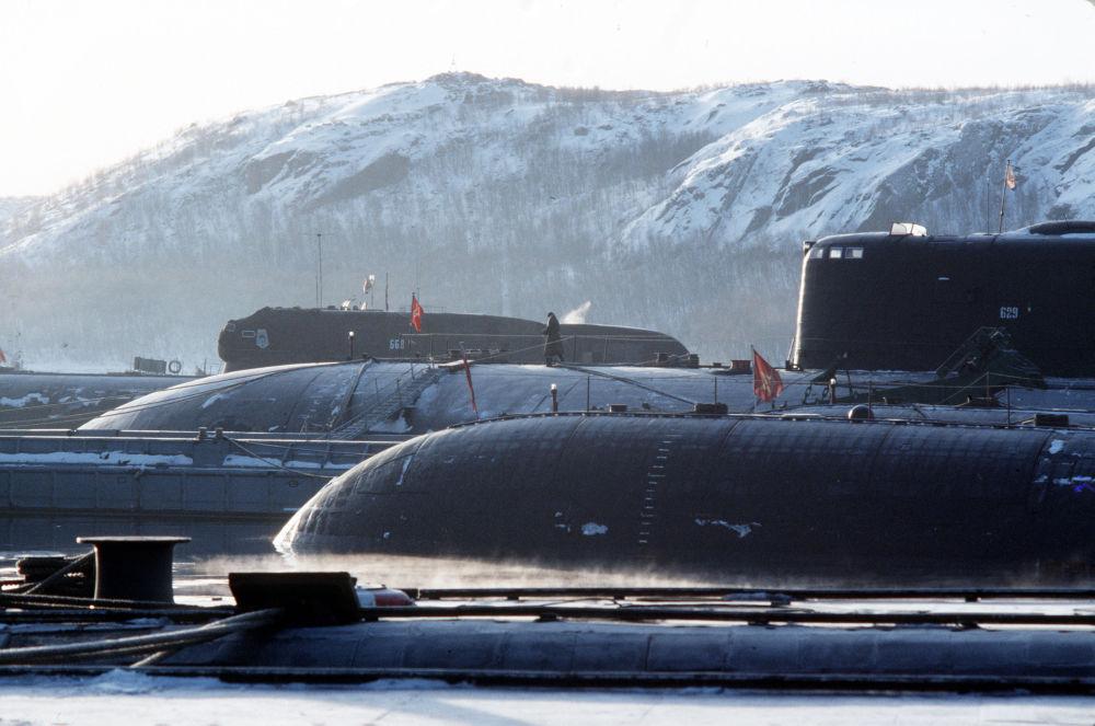 俄羅斯北方艦隊日